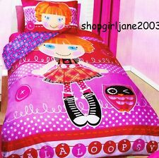 Lalaloopsy - Owl - Queen Bed Quilt Doona Duvet Cover Set
