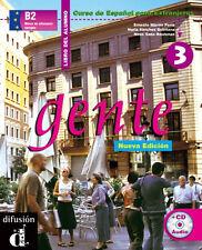 Gente 3, libro del alumno + CD (Spanish Edition) [Paperback  Book]