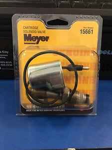 MEYER SNOW PLOW Cartridge Solenoid Valve 15661C Meyer Genuine Plow Part 15661