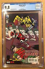BATMAN '66 # 25 CGC 9.8! HARLEY QUINN APPEARANCE. BONDAGE COVER!