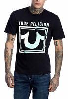 True Religion Brand Jeans Men's Spice Western Logo Crew T-Shirt Top - 101922