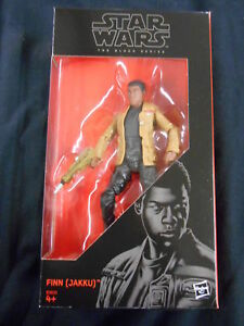 "STAR WARS BLACK SERIES #01 ""FINN (JAKKU)"" 6"" ACTION FIGURE (HASBRO TOYS)"