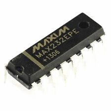 10PCS MAX232 MAX232EPE DIP-16 MAXIM CHIP IC NEW