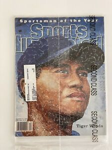 TIGER WOODS Sports Illustrated Magazine THE MASTERS Sportsman of the Year