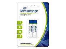 2 stückneu media range AAA micro Battery hr03 NiMH-accu 800mah