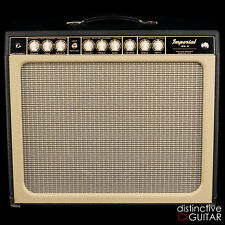 NEW TONE KING IMPERIAL MKII W/ BUILT IN ATTENUATOR TUBE REVERB & TREMOLO BLACK