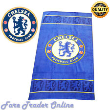OFFICIAL LICENSED CHELSEA FC FOOTBALL TOWELS BEACH BATH GYM TOWEL SHEET SWIM NEW