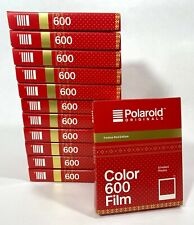 12pack Polaroid Festival Red Color 600 Instant Film - 8 Prints *Expired Film*