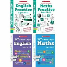 Scholastic Year 6 SATs Revision English & Maths Home Learning Set (RRP £29.96)