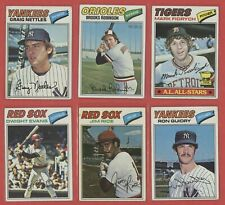 1977 Topps Baseball Card U-Pick (100 Picks) You Pick Set Builder Pete Rose READ