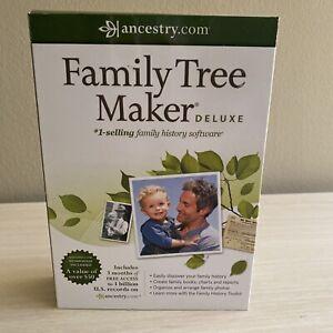 Family Tree Maker ~DELUXE ~ BRAND NEW!
