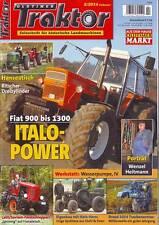 Oldtimer Traktor 2/14 Fiat 900/1000 u. 1300/MAN 2K3/Ritscher-Dreizylinder/Latil