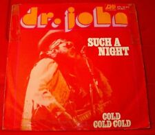 "Dr John Such A Night 7"" PC GERMAN PROMO 1973 Atlantic ATL 10376 Cold Cold VINYL"