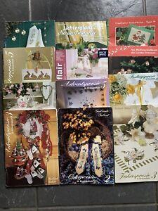 50 x Stickhefte RICO,Gerlinde Gebert, Sammlung, Kreuzstich -Weihnachten,Ostern