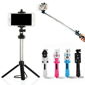 Extendable Telescopic Selfie Stick Monopod For Mobile Phone Holder Stand