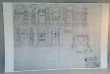 "Dark Shadows Blueprint 11""X17"" GLOSSY PRINT- JOSETTTE'S BEDROOM  -BONUS GIFT"