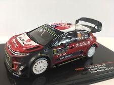 Citroen C3 Wrc #10 Rally Montecarlo Kris Meeke, Paul Nagle IXO 1:43 RAM662