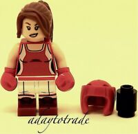 LEGO Collectable Mini Figure Series 16 Kickboxer Girl - 71013-8 COL251 R155