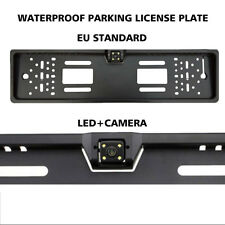 European Parking camera Auto Car Numbers License Plate Frame Numbered Holder