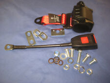 SECURON RED INERTIA SEAT BELT MGB   ROADSTER GT or MIDGET ***W2B