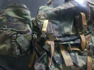 Zaino militare grande alpini esercito italiano + Zainetto tattico