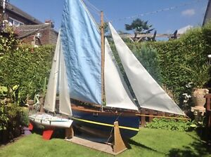 Very Large RC Sail Boat, Yacht, Top Sail Cutter