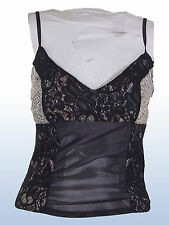 TOP DONNA NERO FRENCH FLY TG S SMALL