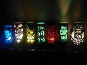 PVC Lamp Decorative Desk and Personalized Customizable Night Lights Ideas