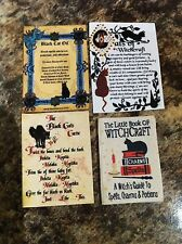 DOLLS HOUSE WITCH BOOK & SHEETS
