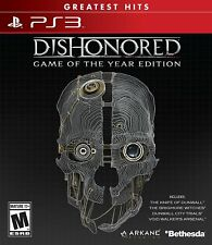 Dishonored Game of the Year PS3! REVENGE ATTACK ACTION