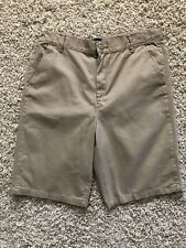 Boys Children Place Size 16 husky New Khaki Shorts