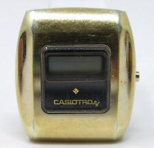 Orologio Casiotron 06-504 quartz watch digital vintage clock montre casio 見ます