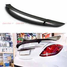 Carbon Fiber Rear Spoiler Trunk Wing for Mercedes-Benz W205 C200 2014 + RT Style