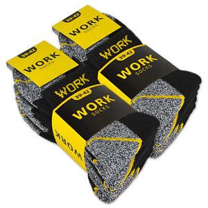 10 | 20 Paar Arbeitssocken Kurzsocken Herren Socken Baumwolle WORK