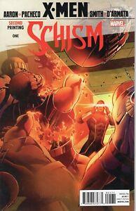 X-Men: Schism #1 & #2 (2nd Print) 2011 Marvel Avengers Jason Aaron Wolverine