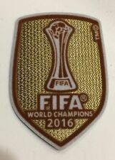 FIFA Club World Cup Champions 2016 patch - Real Madrid - Ronaldo, Bale