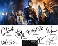 Legends of Tomorrow Signed Photo Autograph Reprint Brandon Routh Arthur Darvill
