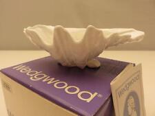 "Wedgwood White NAUTILUS Clam/Sea Shell Nut/Candy/Bon Bon Dish 7"" MIB"