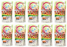 10 Paquete de wufuyuan Color tapioca Perla 250g para beber té leche Boba Bubble Tea
