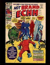 Not Brand Echh #1 VGF Severin Kirby Everett Fantastic Four & Spider-Man Parodies