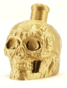 Mayan / Aztec Death Whistle Ancient Gold Skull *** MADE IN USA ***