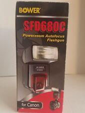 Bower SFD680 Shoe Mount Flash for Canon, auto flash, power flash