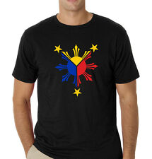 Philippines filipino pinoy t-shirt w/ Unique Philippine Flag theme 3 colors