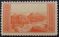 Stamp US, Cat. #741, 2c Grand Canyon, (1934), Mint NH/OG