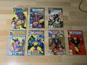 Wolverine Marvel Comics Lot (7) # 1 17 18 20 28 49 58