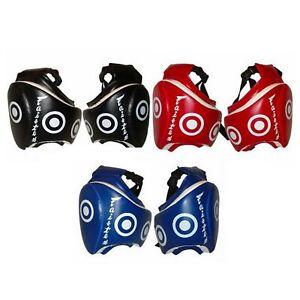 Fairtex TP3 Muay Thai Thigh Pads Black Red Blue Kick Boxing Protective Sporting