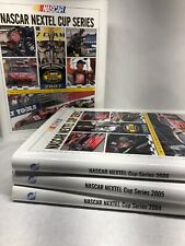 Nascar Nextel Cup Series Yearbooks Lot Of 4 Years 2004 05 06 07