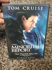 Tom Cruise Minority Report (2002) (Dvd 2-Disc Set)