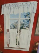 "New Basic Blindz White Faux Wood Plantation Blinds 33""w X 28""t NIB"