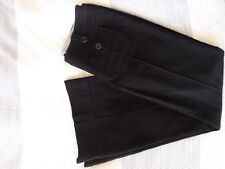 Next Black Trousers Flared Size 10 Regular Excellent Condition